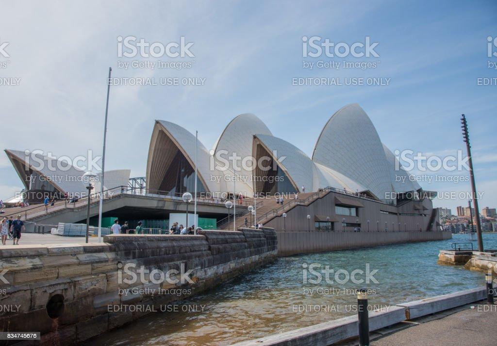 Landmark: Sydney Opera House stock photo