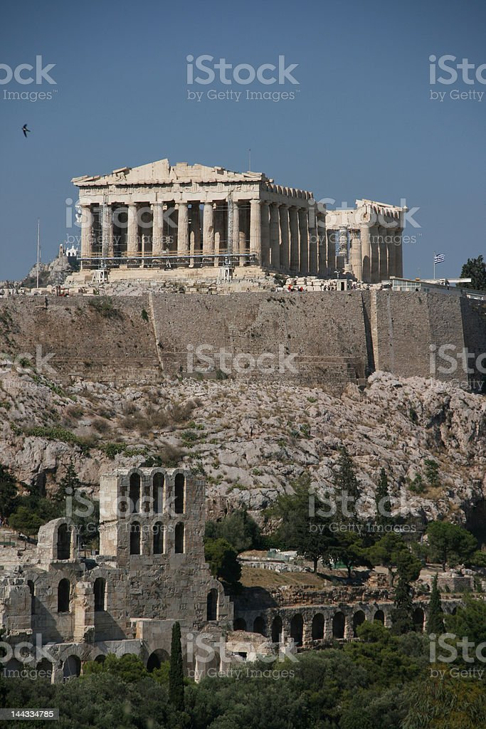 landmarks of the world stock photo