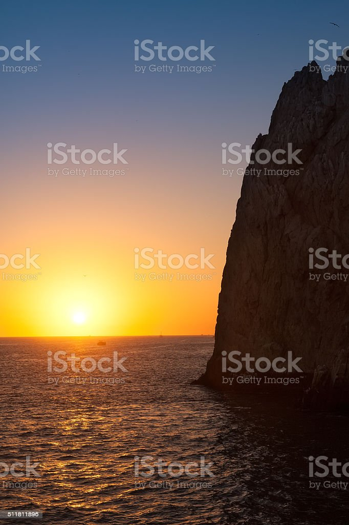 Land's End in Cabo San Lucas stock photo