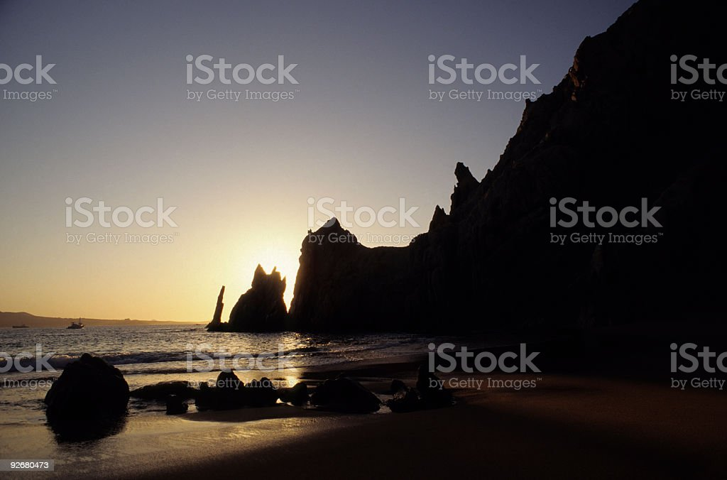 Land's End in Mexico's Cabo royalty-free stock photo