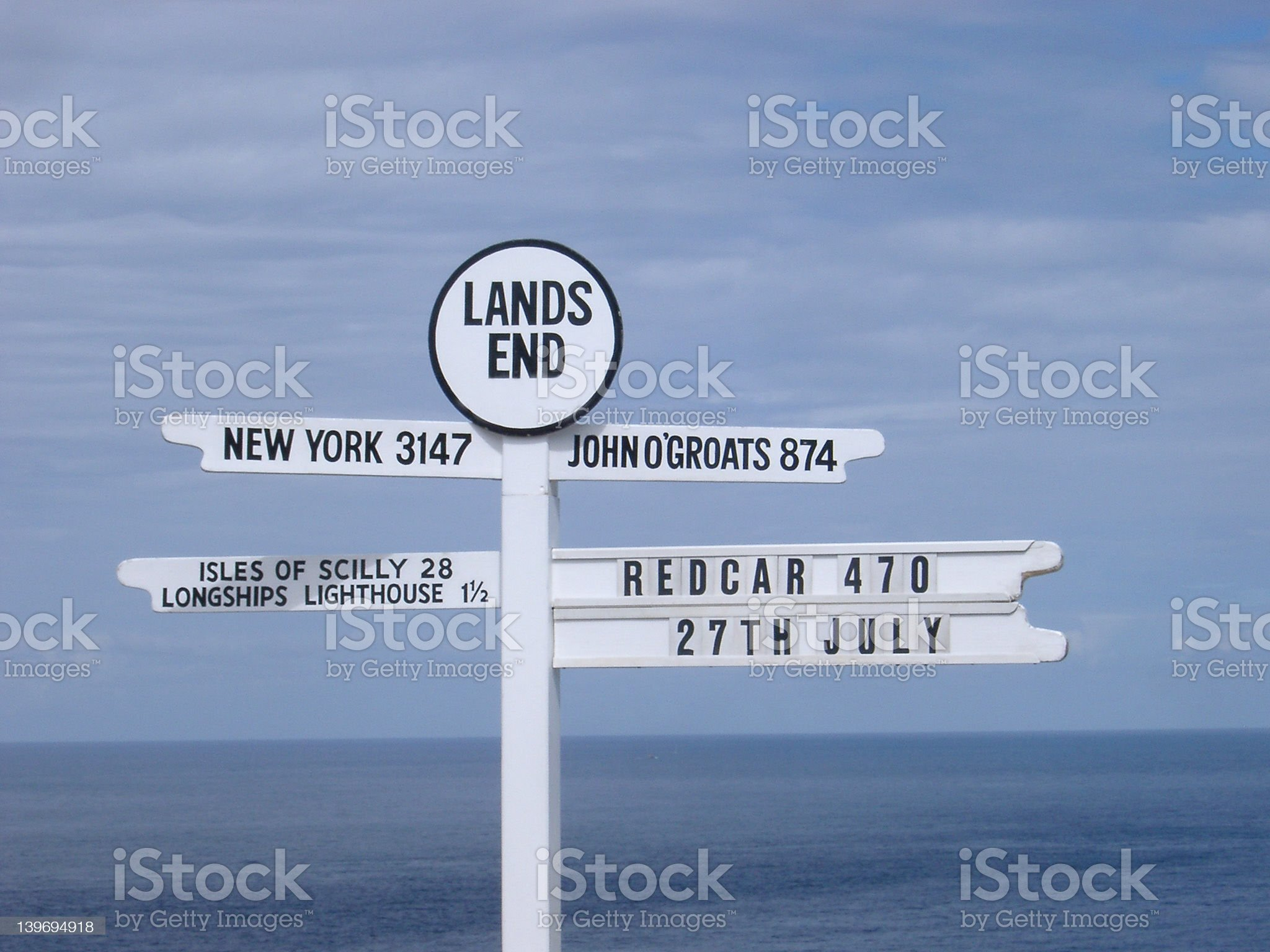 Lands End royalty-free stock photo