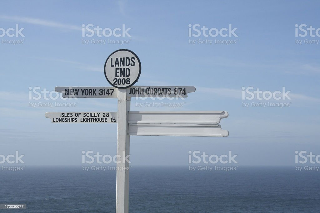Land's End stock photo