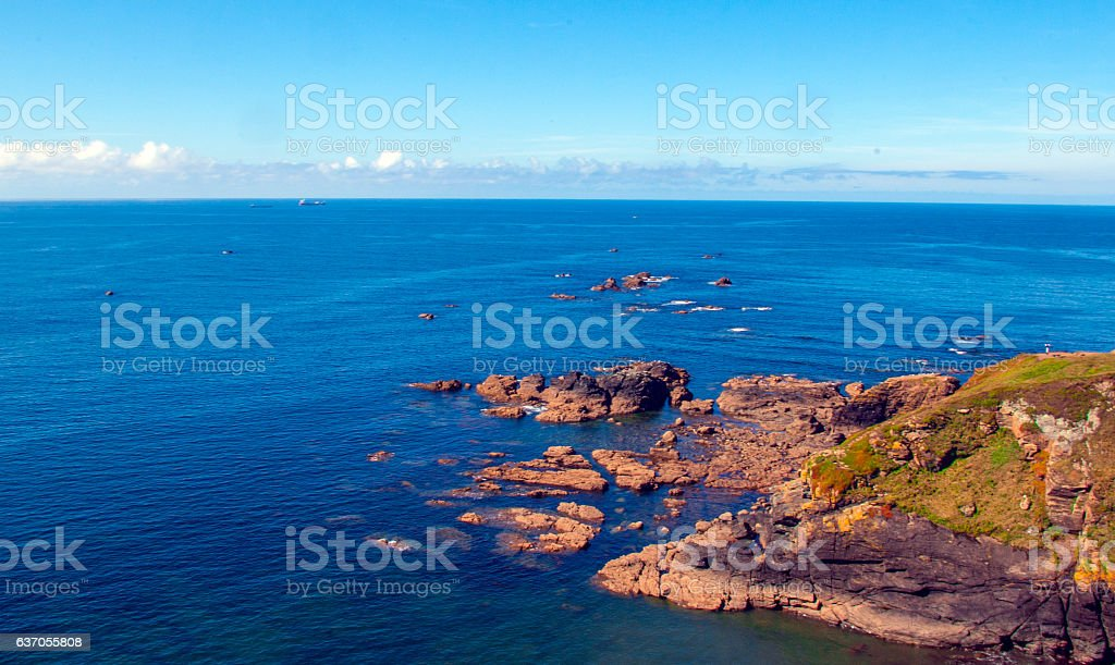 Lands End stock photo