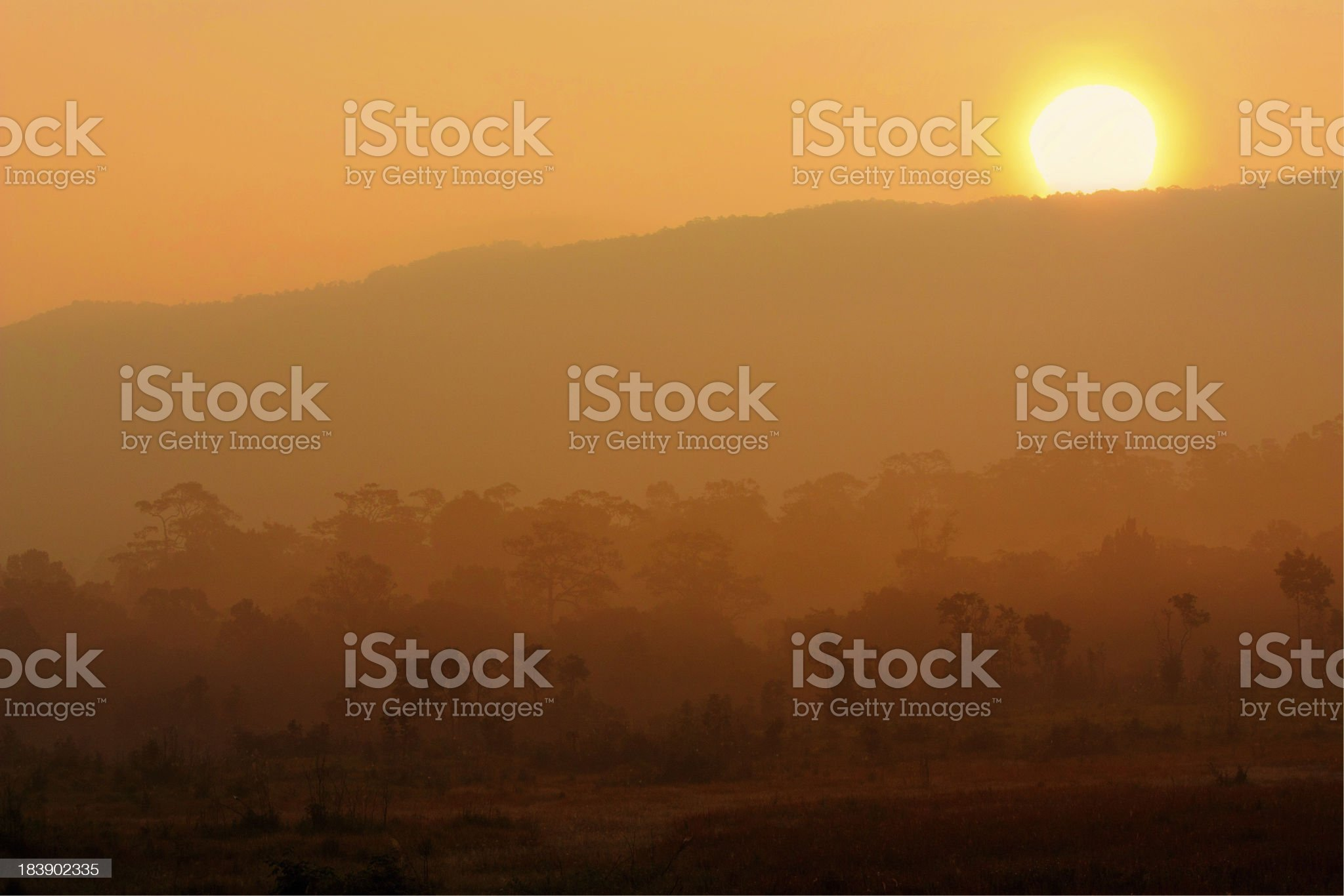 Land's layer royalty-free stock photo