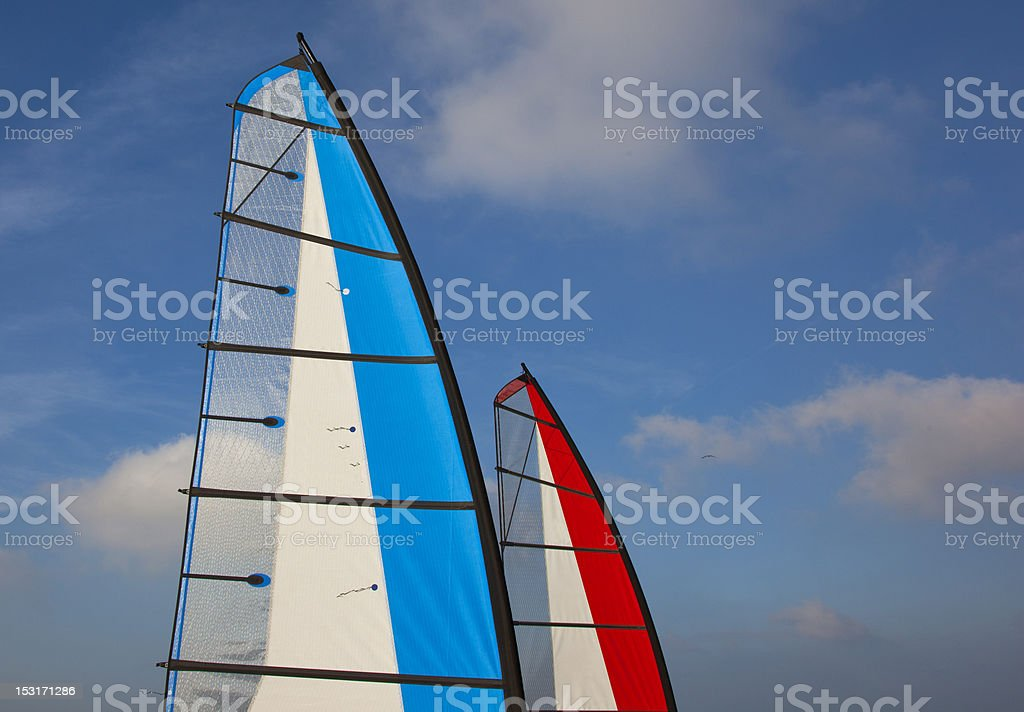 Landsailing royalty-free stock photo