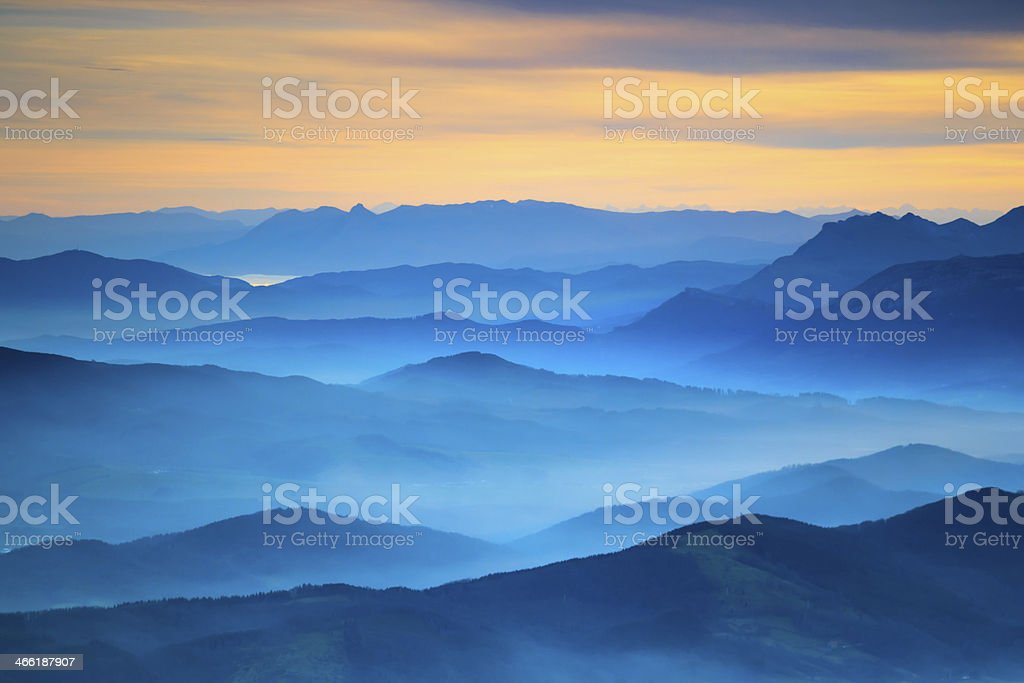landscape Aerial View stock photo