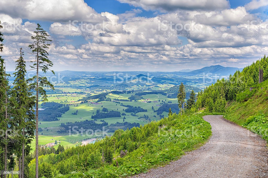 Landscape Allgaeu stock photo