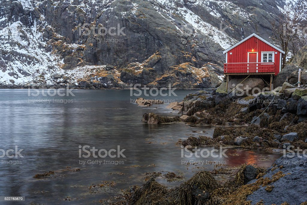 Landscape and Marine Views of Norway stock photo