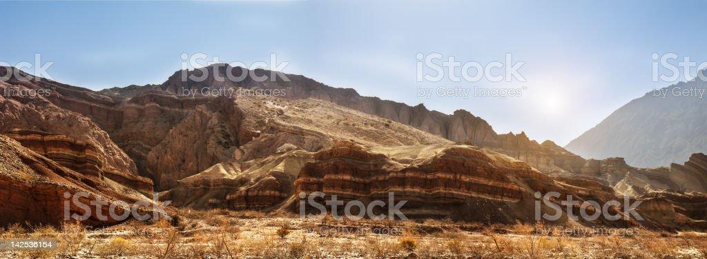 Landscape Argentina. stock photo