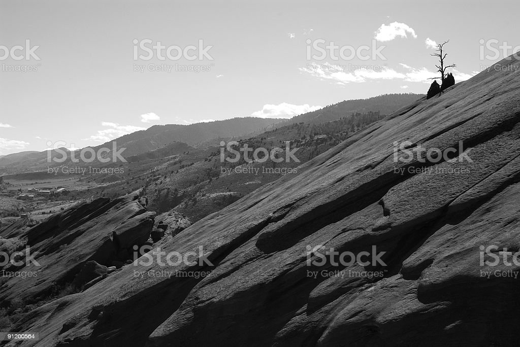 Landscape at Red Rocks royalty-free stock photo