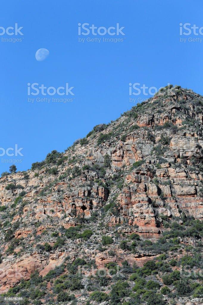 Landscape at Sedona, AZ, USA stock photo