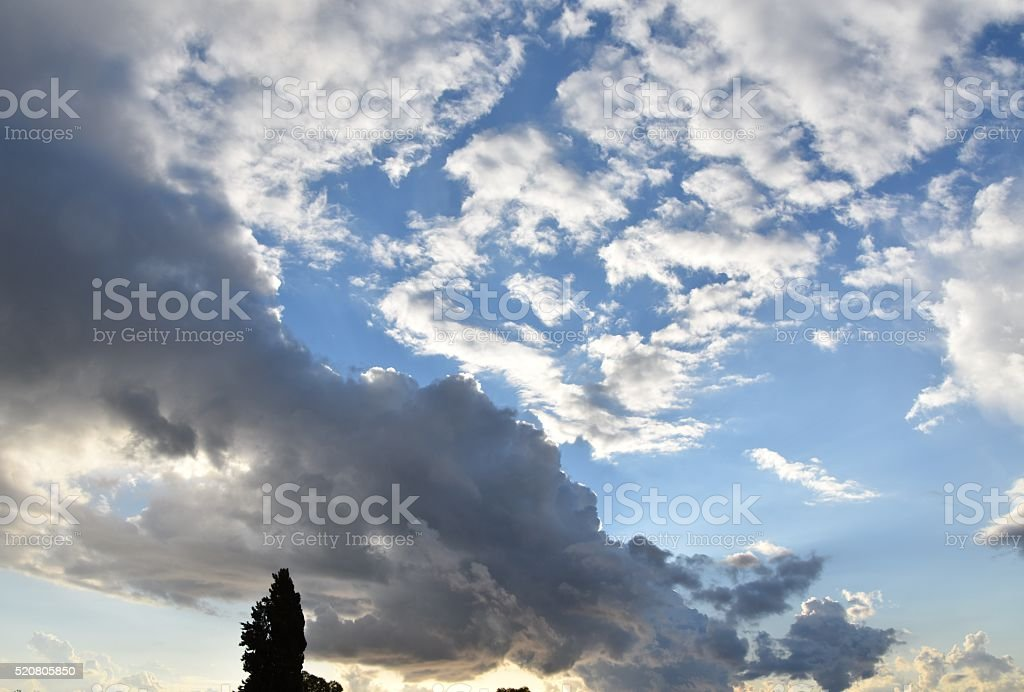 landscape background stock photo