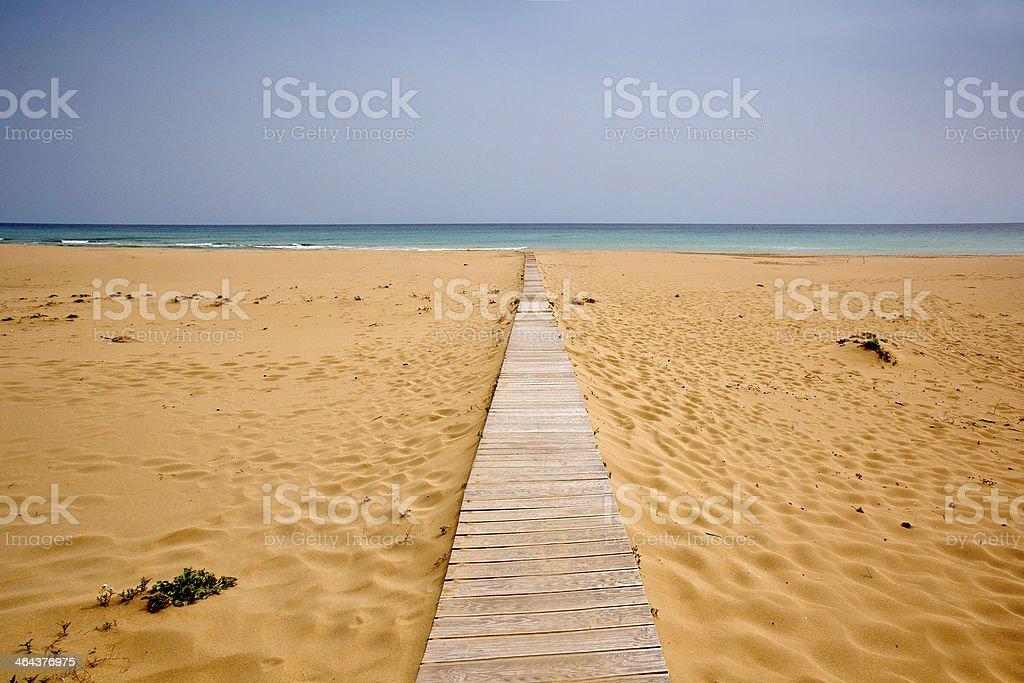 Landscape Beachside stock photo