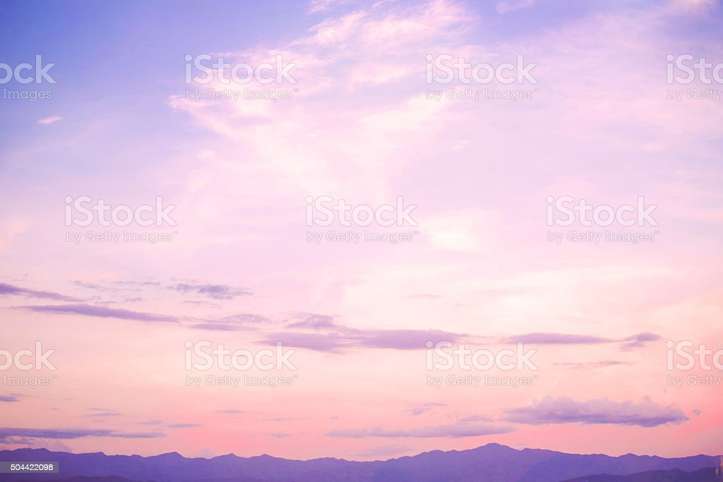 landscape beautiful sky stock photo