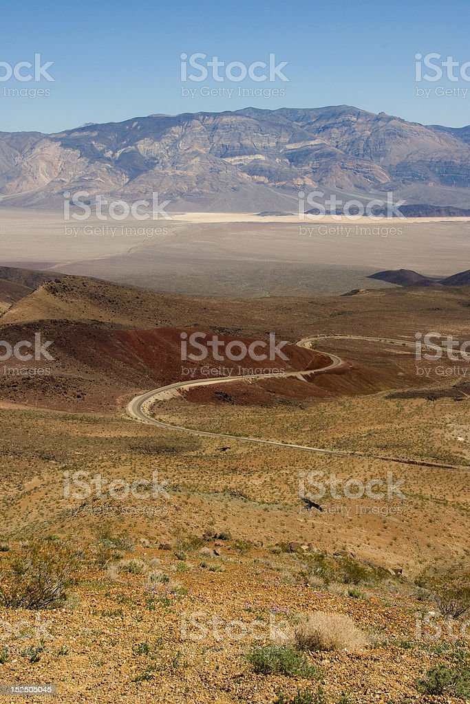 Landscape, Death Valley royalty-free stock photo