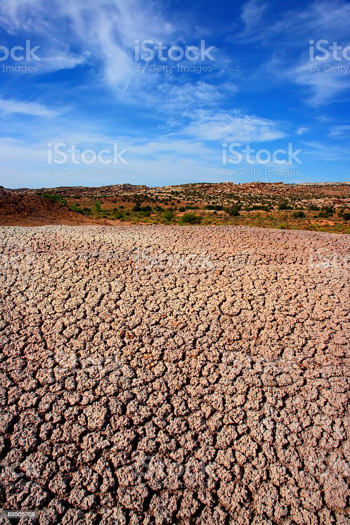 landscape desert stock photo