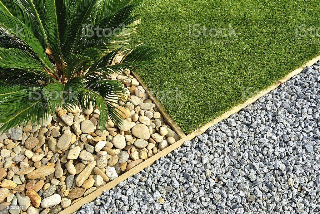Landscape design stock photo