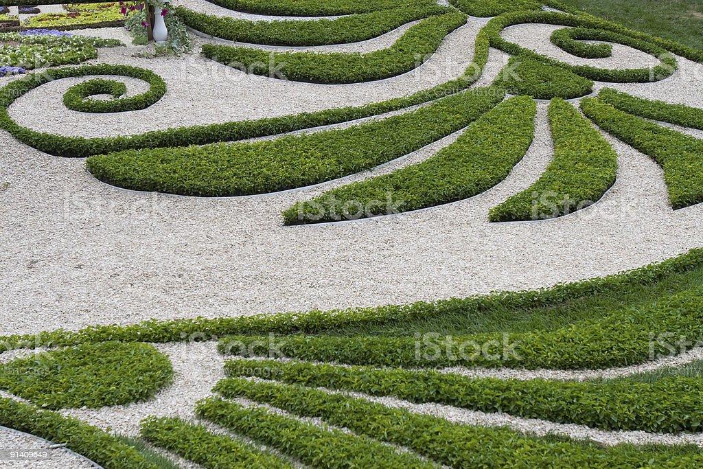 landscape design royalty-free stock photo