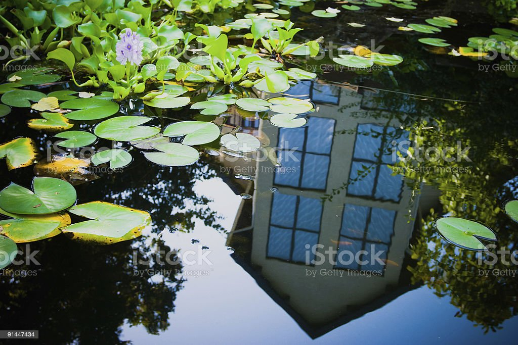 Landscape design royalty-free stock photo