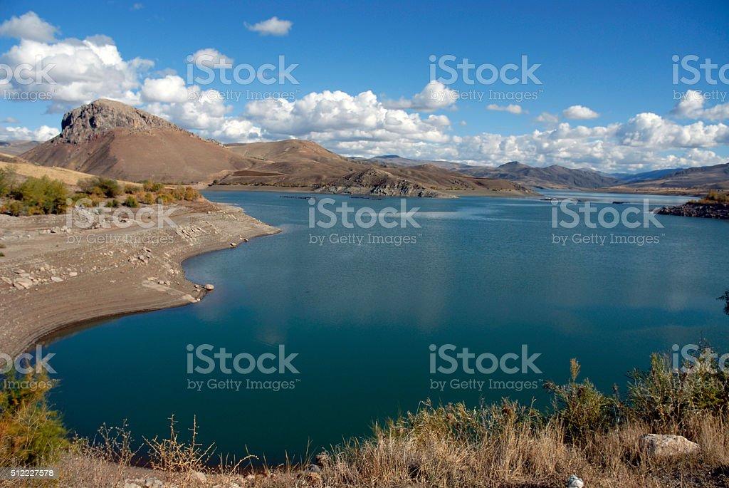 Landscape, Erzincan, Turkey stock photo