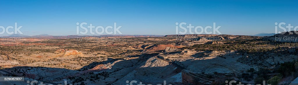 Landscape from Scenic Byway 12 between Boulder and Escalante, Utah stock photo