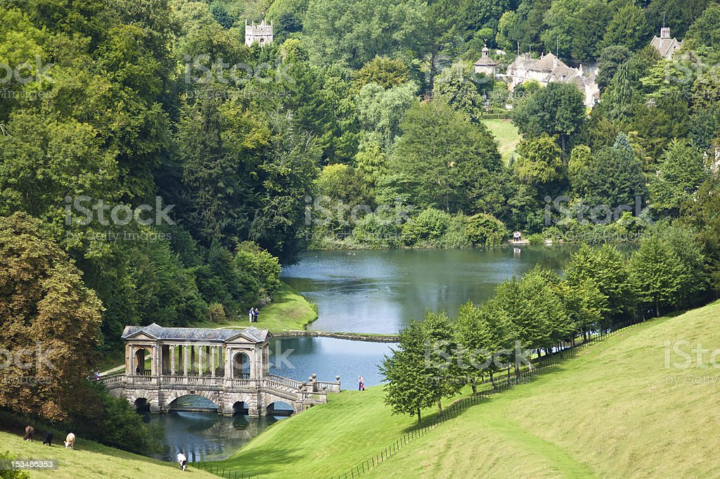 Landscape Garden stock photo