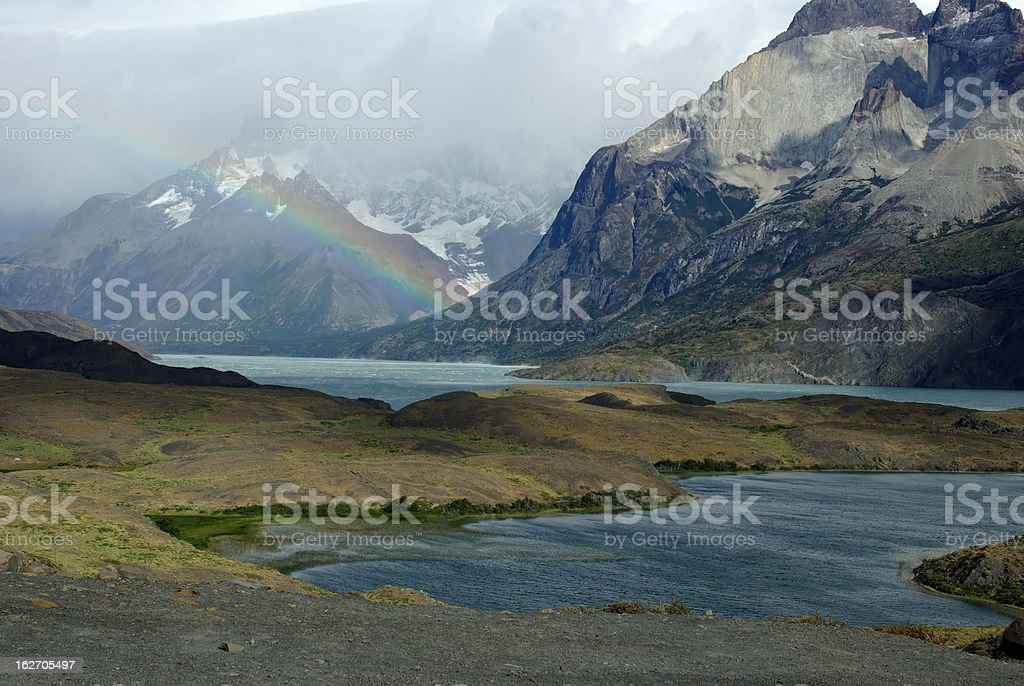Landscape in Chile royalty-free stock photo