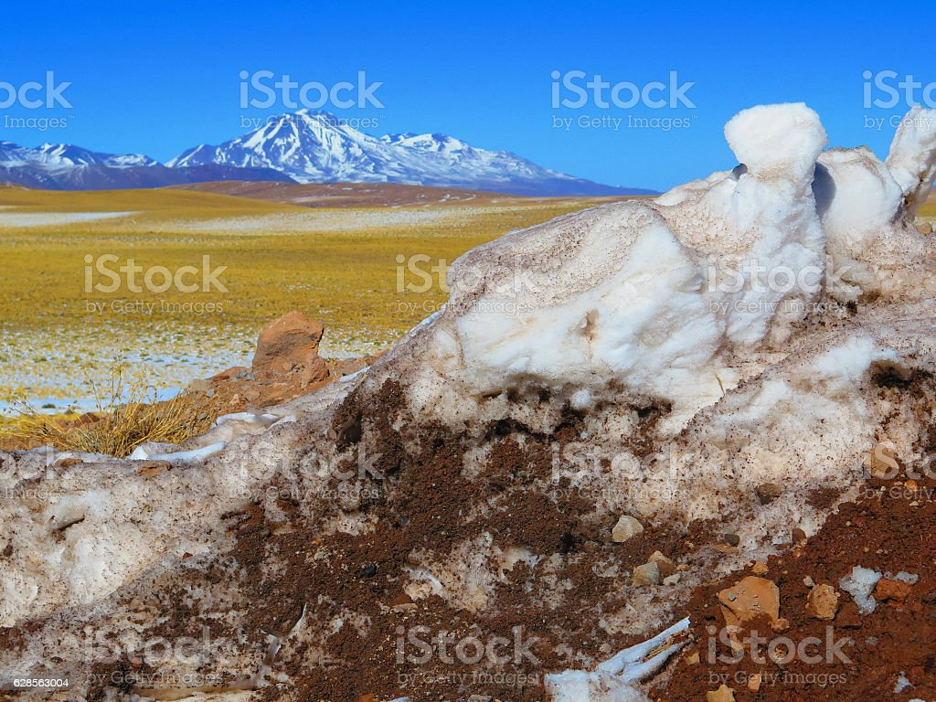 Landscape in Chile stock photo