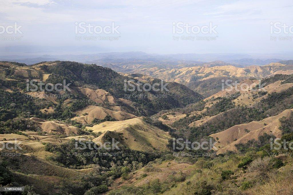 Landscape in Costa Rica stock photo