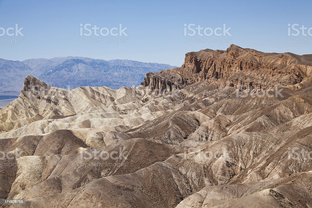 Landscape in Death Valley National Park royalty-free stock photo