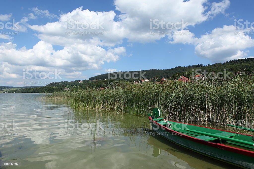 Landscape in Franche Comt?, France stock photo