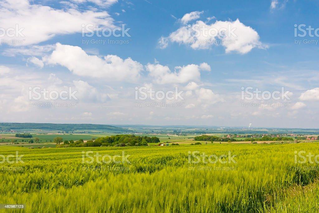Landscape in Germany stock photo