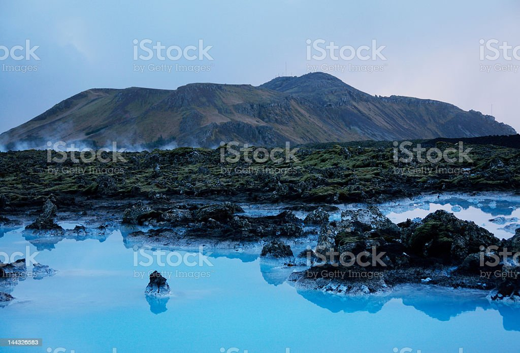 Landscape in Iceland royalty-free stock photo