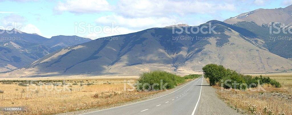 landscape in patagonia royalty-free stock photo