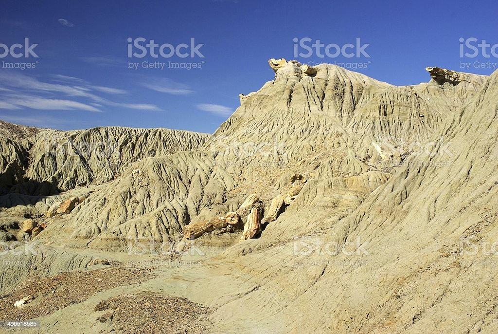 Landscape in Patagonia stock photo