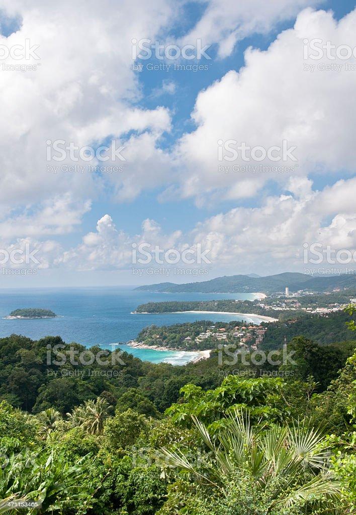 Landscape In Phuket stock photo