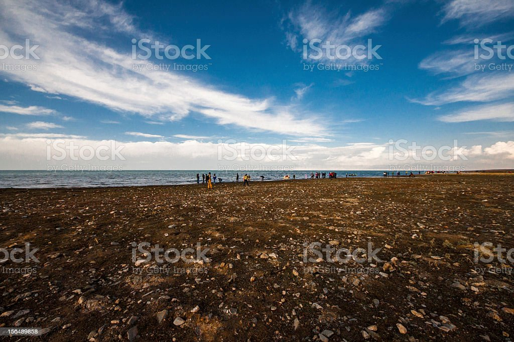 Landscape in Qinghai, China royalty-free stock photo