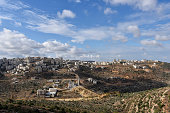 Landscape in Ramallah, Palestine