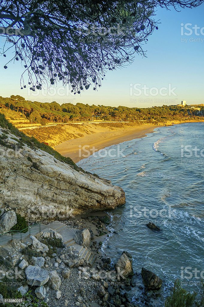 Landscape In Salou stock photo
