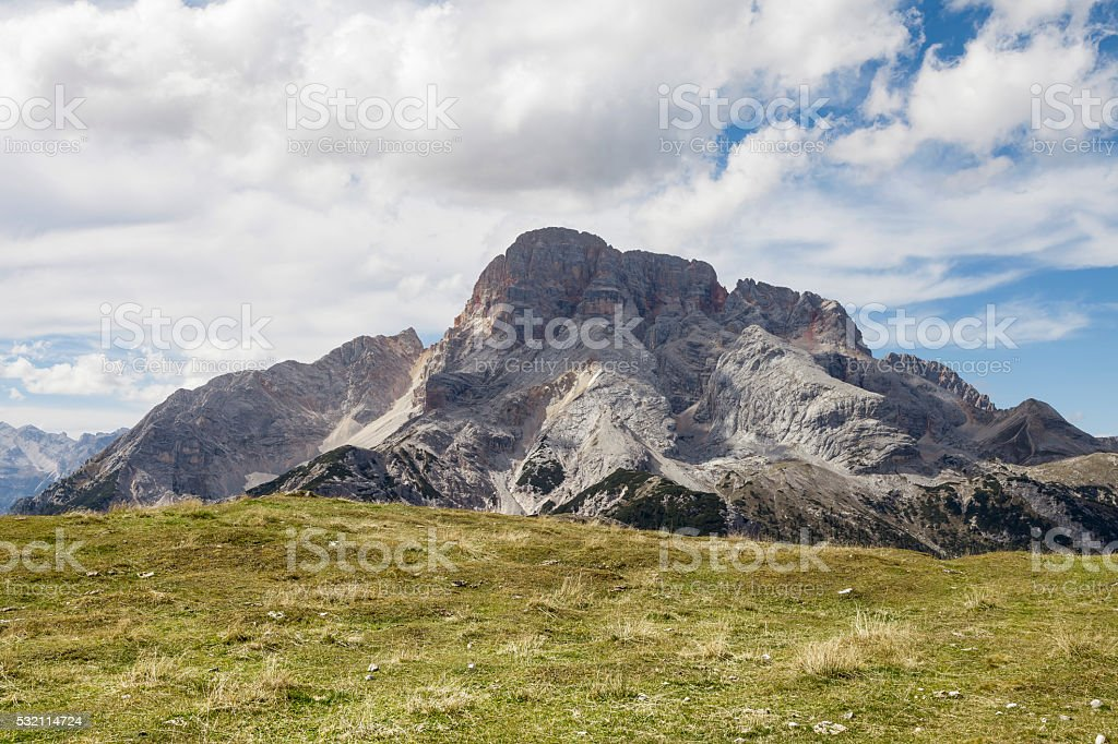 Landscape in South Tyrol stock photo
