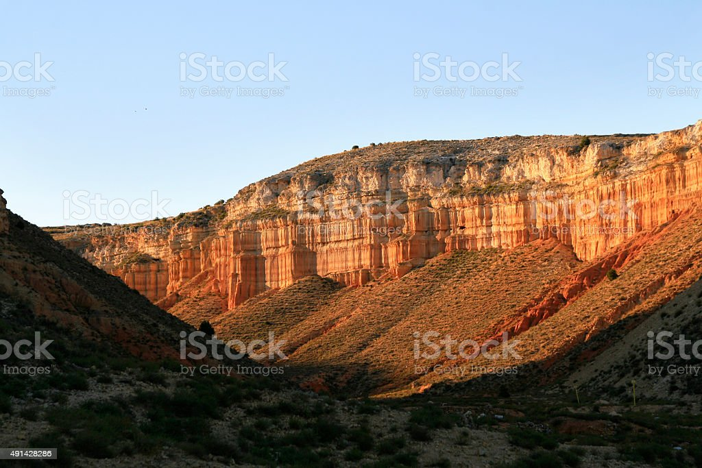 Landscape in Spain stock photo