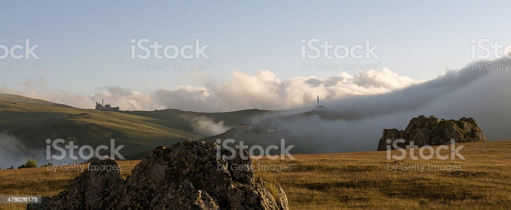 Landscape in Turkey royalty-free stock photo