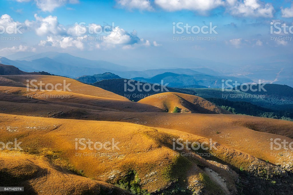 Landscape Long Tom pass South Africa stock photo