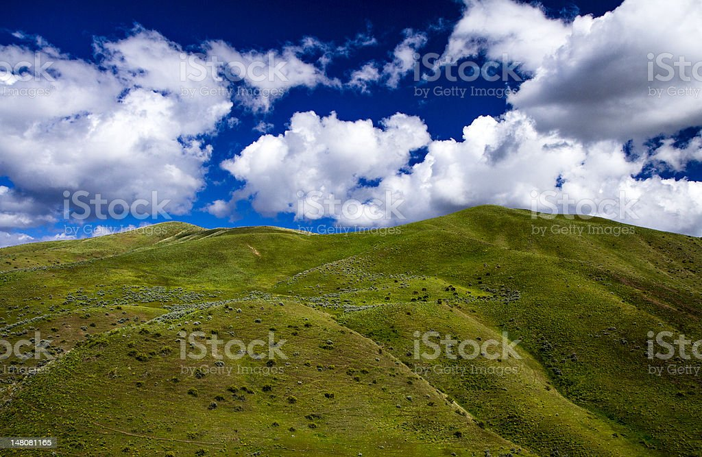 Landscape of a mountain stock photo