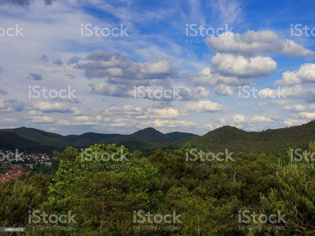 Landscape of Dahn stock photo