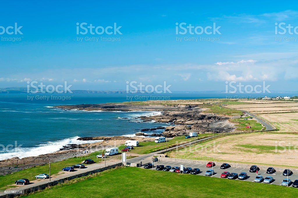 Landscape of Hook Head, Ireland ( Wexford ) stock photo