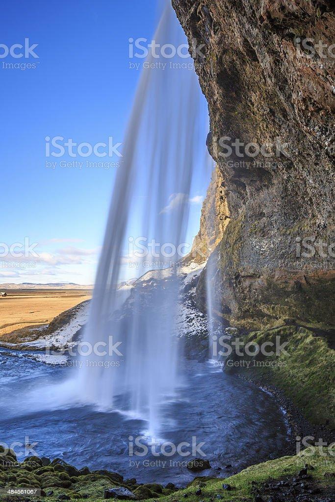 landscape of Iceland stock photo
