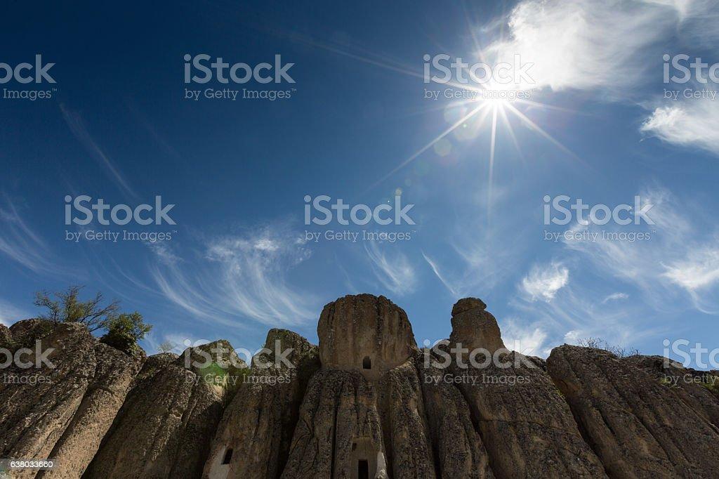 Landscape of Kilistra stock photo
