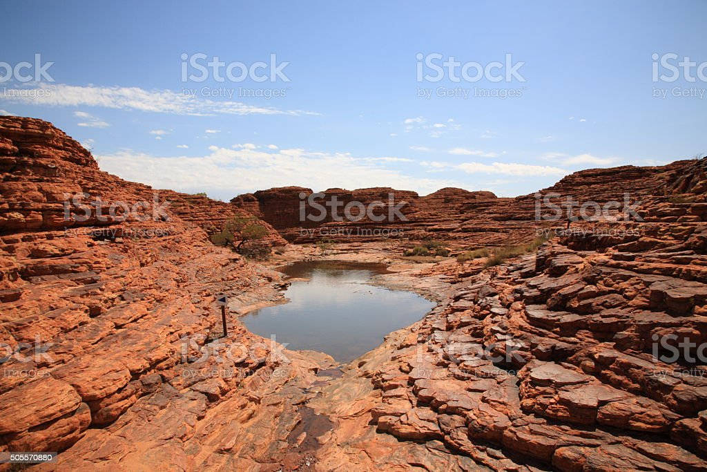 Landscape of kings canyon stock photo