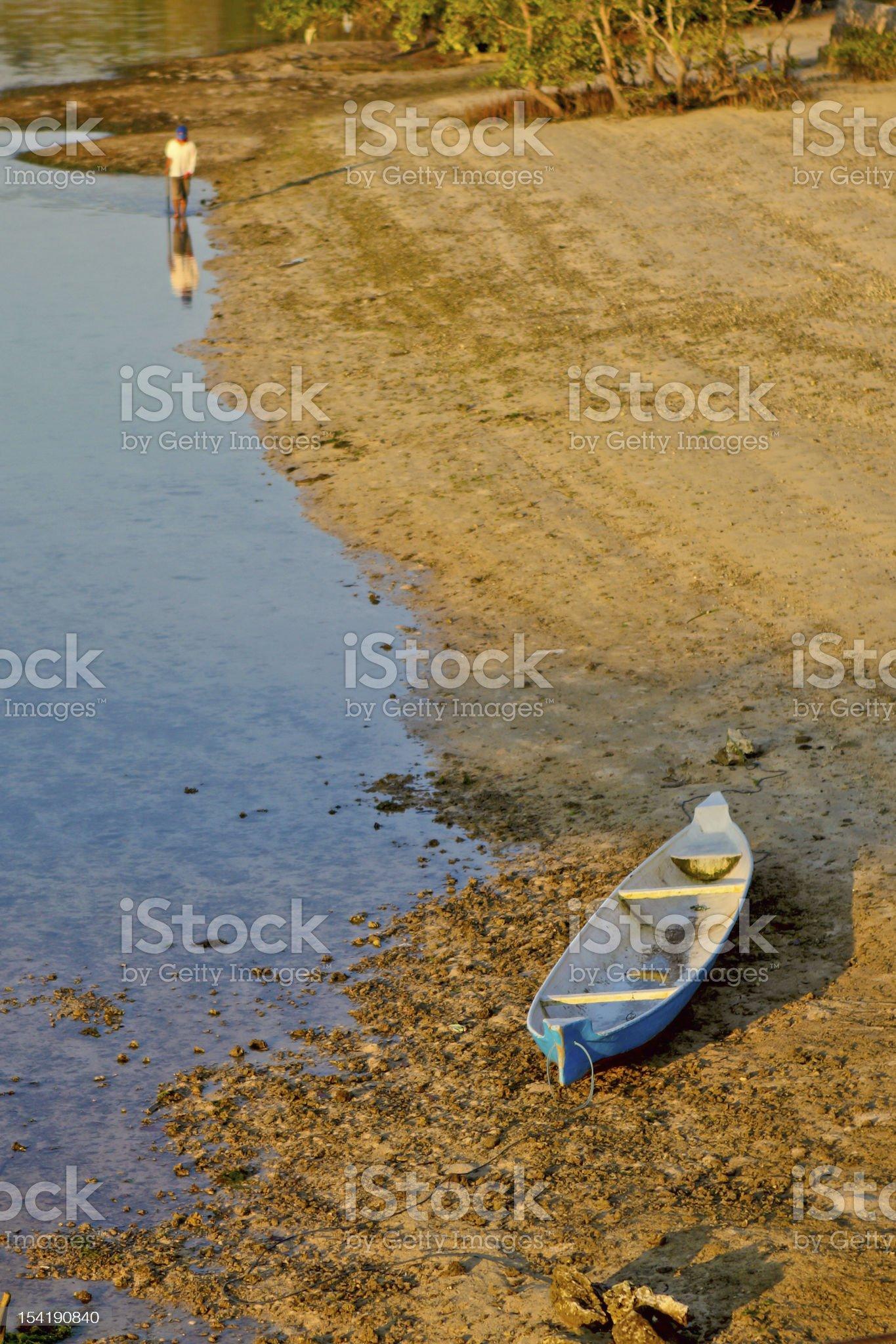 landscape of Lembongan island royalty-free stock photo